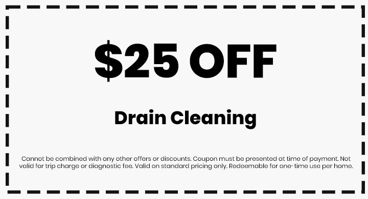 Clean flo plumbing sewer and drain Anderson SC plumber $25 off coupon drain cleaning
