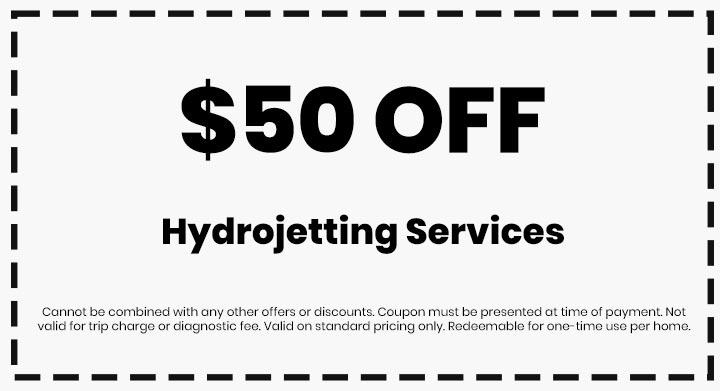 Clean flo plumbing sewer and drain Anderson SC plumber $50 off coupon hydrojetting services