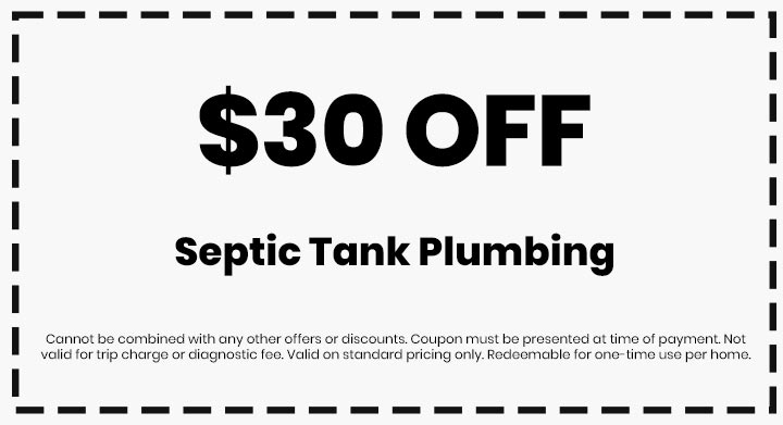 Clean flo plumbing sewer and drain Anderson SC plumber $30 off coupon septic tank plumbing