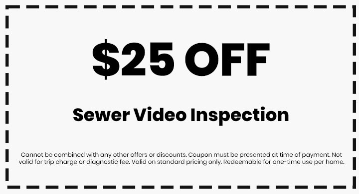 Clean flo plumbing sewer and drain Anderson SC plumber $25 off coupon sewer video inspection