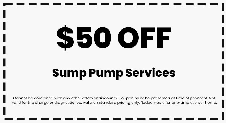 Clean flo plumbing sewer and drain Anderson SC plumber $50 off coupon sump pump services